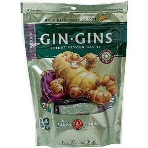 Ginger People Gin Gins Chewy Ginger Candy Original -- 3 oz by Ginger People [並行輸入品]