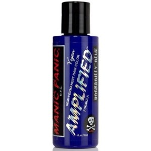 Manic Panic Amplified Semi-Permanent Hair Color ~Rockabilly Blue~ 4 Fl. Oz. by Manic Panic [並行輸入品]