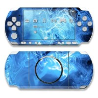 PSP3000用スキンシール【Blue Quantum Waves】