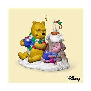 Winnie the Pooh – Cocoa For 2つ2006年ホールマークOrnament qxd8333 by Keepsake Ornament