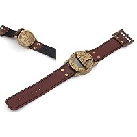 """Wrist watch sundial Cuff with Quote """" Go Confidentlyの方向をin Your Dreams。Live the Life You Have..."""