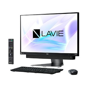 NECパーソナル PC-DA770KAB LAVIE Desk All-in-one - DA770/KAB ダークシルバー