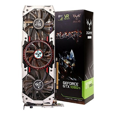 COLORFUL iGame GTX1080Ti Vulcan AD [GeForce GTX 1080Ti 11GB GDDR5X] グラフィックスカード