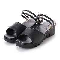 ドクター ショール Dr.Scholl Scholl 2WAY Gel Sandals (Black) レディース