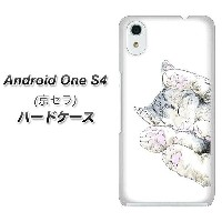 android one S4 ハードケース カバー 【YJ261 アメリカンショートヘア 猫 素材クリア】