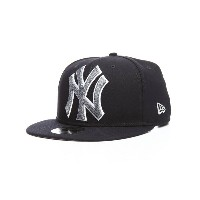 ニューエラ メンズ 帽子 キャップ【9fifty new york yankees squad twist snapback hat】Navy