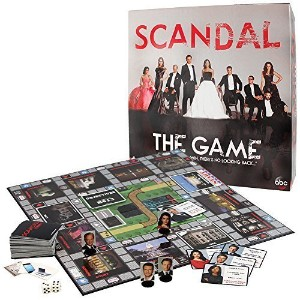 Scandal Board Game Of Intrigue Mystery Trivia- ABCs Hit Show No Looking Back by Cardinal Industries...