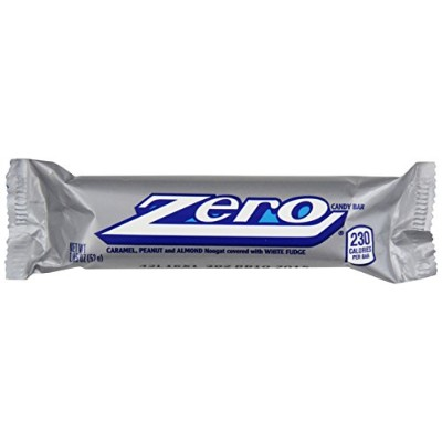 ZERO Candy Bar (1.85-Ounce Packages, Pack of 24) by Zero