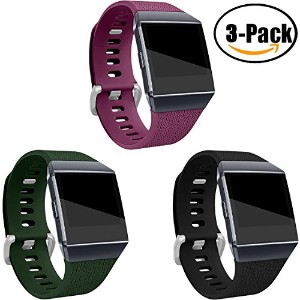 For Fitbit Ionic帯、maledanクラシック交換用アクセサリーWristbands for Fitbit Ionic Smart Watch , Large Small L
