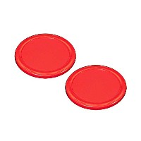 "3 – 1 / 4 "" SheltiレッドAir Hockey Puck – 2のセット"
