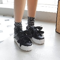 [More than I imagined] Ribbon wearing slip-on (UD913) Sneakers Sneakers Women s Shoes korean fashion
