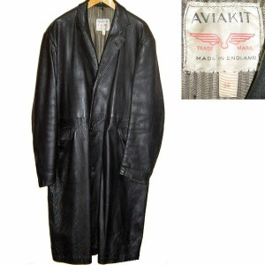 LEWIS LEATHERS AVIAKIT 60s VINTAGE LEATHER COAT MADISON ルイスレザー レザーコート 革ジャン(皮ジャン)【中古】【RCP】【ロマンチックノイロー...