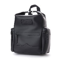ハンター HUNTER ORG M TOPCLIP BACKPACK RUB LTH (BLK) レディース メンズ