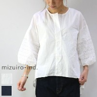 mizuiro ind (ミズイロインド)mizuiro-ind.strip high neck P/O 2colormade in japan1-237363 【NEW】【★】
