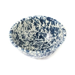 【LABOUR AND WAIT】K258 MARBLED BOWL NVY/CRM/15cm/0.47L【ビショップ/Bshop レディス, メンズ 食器・キッチングッズ NAVY系1 ルミネ...
