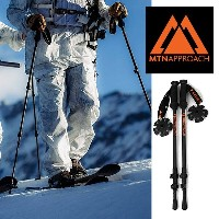 【P最大41倍&クーポン多数!】スキー ポール マウンテンアプローチ MTN APPROACH CARBON TOURING POLES カーボンツアーリング ポール ストック 収納...