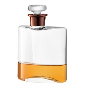 LSA FLASKDECANTER デカンタCLEAR/COPPER NECK