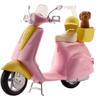 Barbie バービー Scooter with Puppy