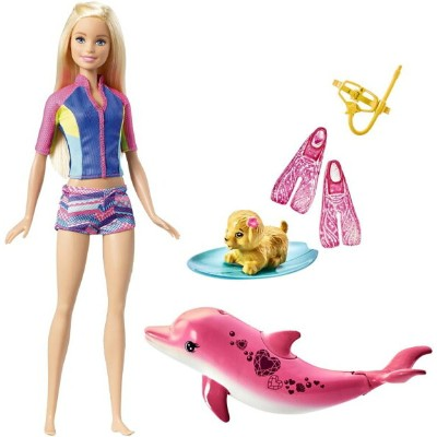 Barbie バービー Dolphin Magic Snorkel Fun Friends プレイセット おもちゃ