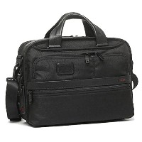 トゥミ バッグ TUMI 26120 D2 ALPHA 2 SMALL SCREEN EXPANDABLE LAPTOP BRIEF ブリーフケース BLACK [並行輸入品]