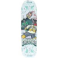 "Creature Skateboards Slapshot MD Everslickスケートボードデッキ – 21.2 "" X 32.19 """