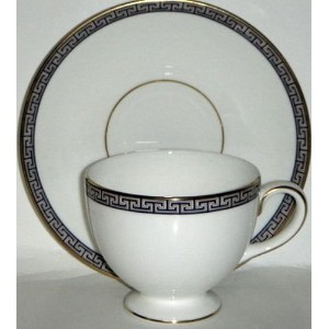 Wedgwood Palatia Cup and Saucer Set (Footed) by Wedgwood [並行輸入品]