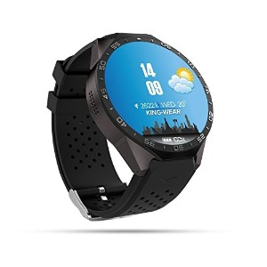 MouJi 3G Smart Watch,Bluetooth WiFi GPS with 2.0MP Camera Android 5.1 OS Heart Rate Monitor 1.39...