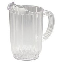 rcp3336cle Bouncerプラスチックピッチャー、32oz、クリア