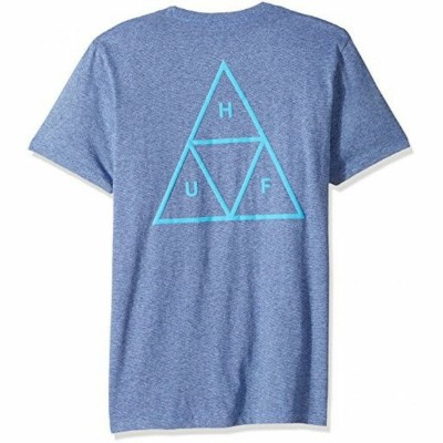 HUF Triple Triangle T-Shirt Denim M Tシャツ 送料無料