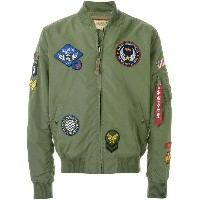 Alpha Industries MA-1 TT Patch II ジャケット - グリーン
