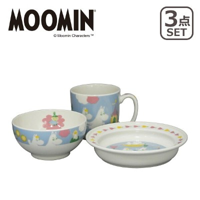 【3%offクーポン】MOOMIN(ムーミン)MM1200 3ピースセット ギフト・のし可