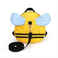 E'Plaza Bee with Wings Baby Kid Toddler Walking Safety Harness Strap Cosplay Backpack Reins Bag (a)...