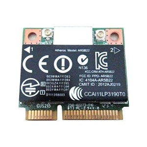 Qualcomm Atheros AR9462 AR5B22 WB222 Half Mini PCIe PCI-Express Wifi 無線LANカードreplacemnet for HP...