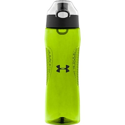 Under Armour Elevate 22 Ounce Tritan Bottle with Flip Top, Hyper Green by Under Armour