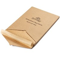 Unbleachedクッキングペーパーシート( 100ピース) 9x 13–Perfect Fit for四半期シートPans–Comes In A Perforatedボックスfor...