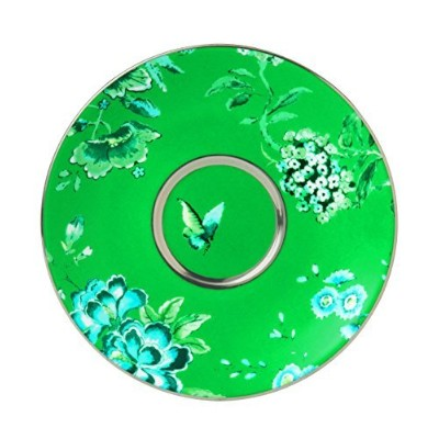Wedgwood Chinoiserie Tea Saucer, Green by Wedgwood