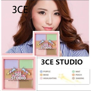3CE コンシーラー【 送料無料】韓国コスメ]3CE STUDIO FACE TUNING CONCEALER PALETTE[3CE/Stylenanda/3CONCEPT EYE LOVE 3CE