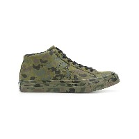 Converse military design sneakers - グリーン
