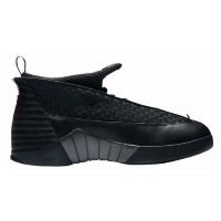 "Air Jordan retro 15 XV ""Stealth Black"" メンズ Black/Varsity Red/Anthracite ジョーダン バッシュ"