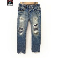 HYSTERIC GLAMOUR 11SS SP加工WRリペア加工デニム【中古】[値下]