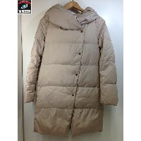 SENSE OF PLACE by URBAN RESEARCH 軽量ダウンコート 36 Beige【中古】