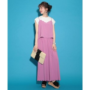 ★dポイントが貯まる★【NICE CLAUP OUTLET(ナイスクラップ アウトレット)】【one after another】ヒートカットロンパース【dポイントでお得に購入】