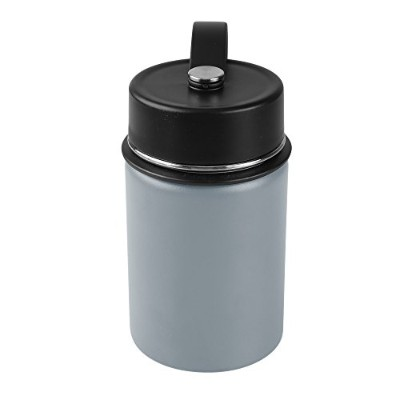 (350ml, Metallic Gray) - Tahoe Trails Double Wall Vacuum Insulated Stainless Steel Water Bottle ...