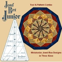 Jewel Box Junior Ruler (Gem Junior): Gems 5 and 10 Combined in One Tool by Phillips Fiber Art ...