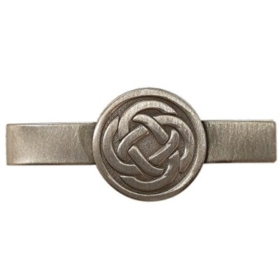 Gudeke Celtic Knot Irish Lucky Love Tie Clip