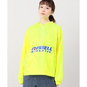 russell athletic packable anorak【ジョイントワークス/JOINT WORKS レディス ブルゾン・スタジャン イエロー ルミネ LUMINE】