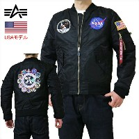ALPHA L-2B APOLLO MA-1 中綿無し NASA アポロ ALPHA アルファインダストリーズ ALPHA INDUSTRIES APOLLO L-2B FRIGHT JKT...