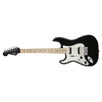 Squier by Fender エレキギター Contemporary Stratocaster® HH Left-Handed, Maple Fingerboard, Black Metallic