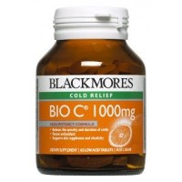 Blackmores Bio C 1000 mg 62 Tablets With 1 pc Premium Souvenir Keychain Thai