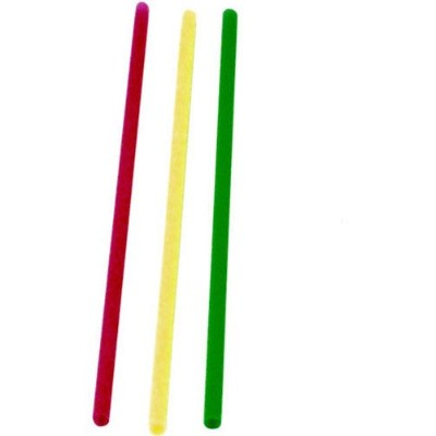 SIP STIR NEON ASST 5.25 1000 straws and stirrers - 1000 in one pack by WNA COMET WEST, INC.